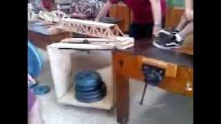 The Spab Bridge - Woodshop Class Project - Build A Bridge