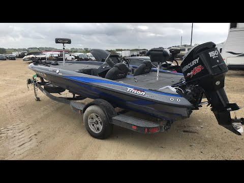 2017 Triton Boat at Copart, Waco TX - future sale!