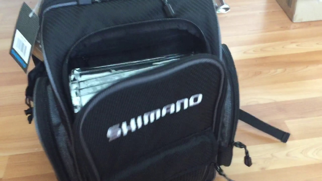 48c377f5dfe Shimano Blackmoon Compact backpack - YouTube
