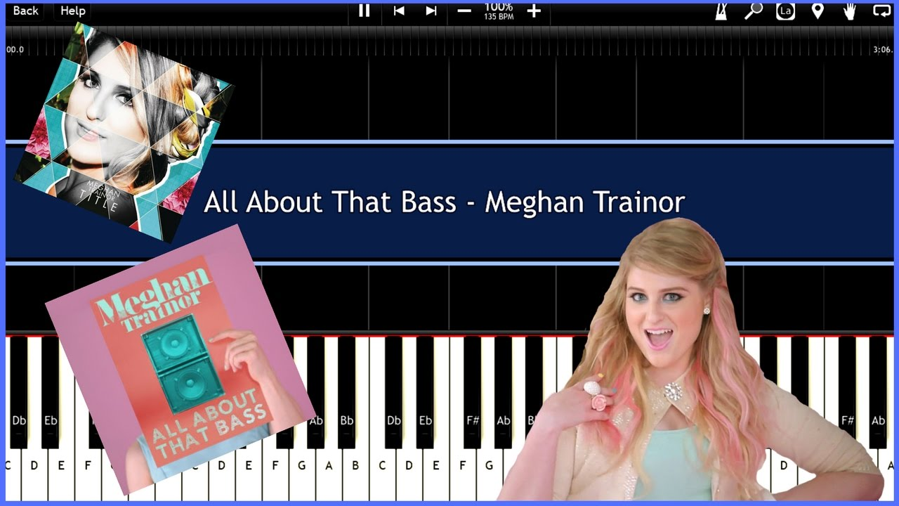 All about that bass meghan trainor [clean version] radio edit.
