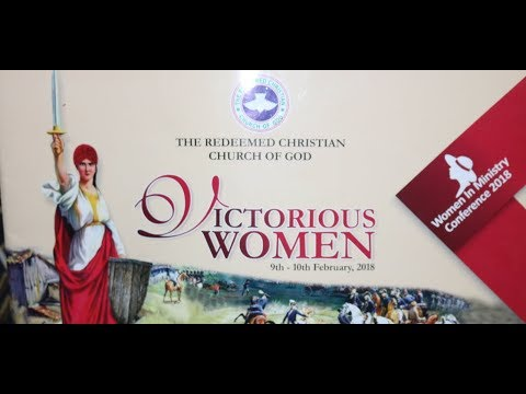 WOMEN IN MINISTRY CONFERENCE 2018   VICTORIOUS WOMEN _DAY1