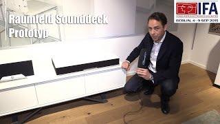 IFA 2015: Raumfeld Sounddeck | Allround-PC.com
