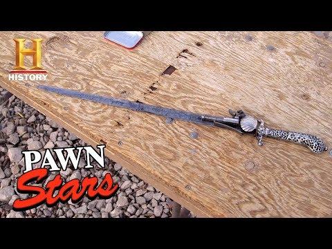 Pawn Stars: Sword Pistol | History