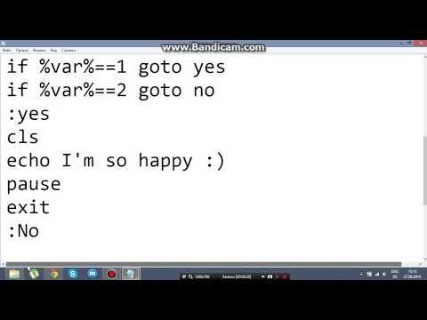 Как написать код в блокноте