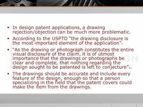 WHY PATENT DRAWINGS GET REJECTED pt. 1
