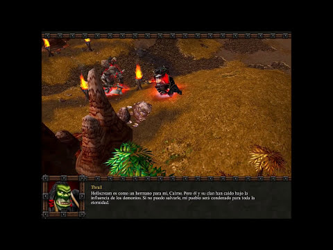 Warcraft III: Reign of Chaos. Orcos 8 # Dificultad: Difícil