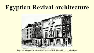Famous Egyptian Revival Architecture Buildings