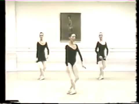 sissonne ouverte classical ballet lesson youtube