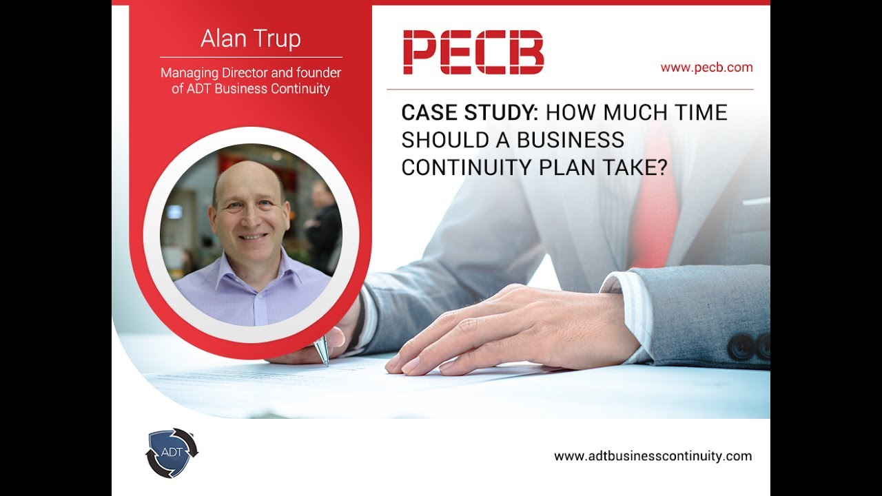 business continuity plan case study Case study introduction this case study addresses a recent business continuity and disaster recovery planning implementation in one of the largest petrochemical companies in the middle east, located within an industrial city that contains over 15 similarly large companies (refineries, fertiliser.