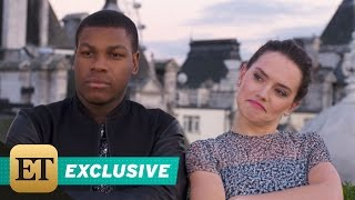 EXCLUSIVE: Daisy Ridley Rapping Is the Greatest 'Star Wars: The Force Awakens' Bonus Feature Yet!