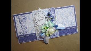 Скрапбукинг. обзор конверта для денег. свадьба
