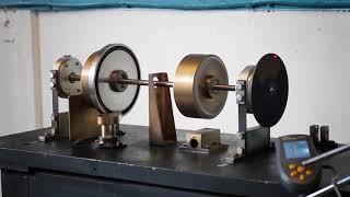 Методичне відео-посібник до лабораторної роботи з вивчення вібрації роторів турбін