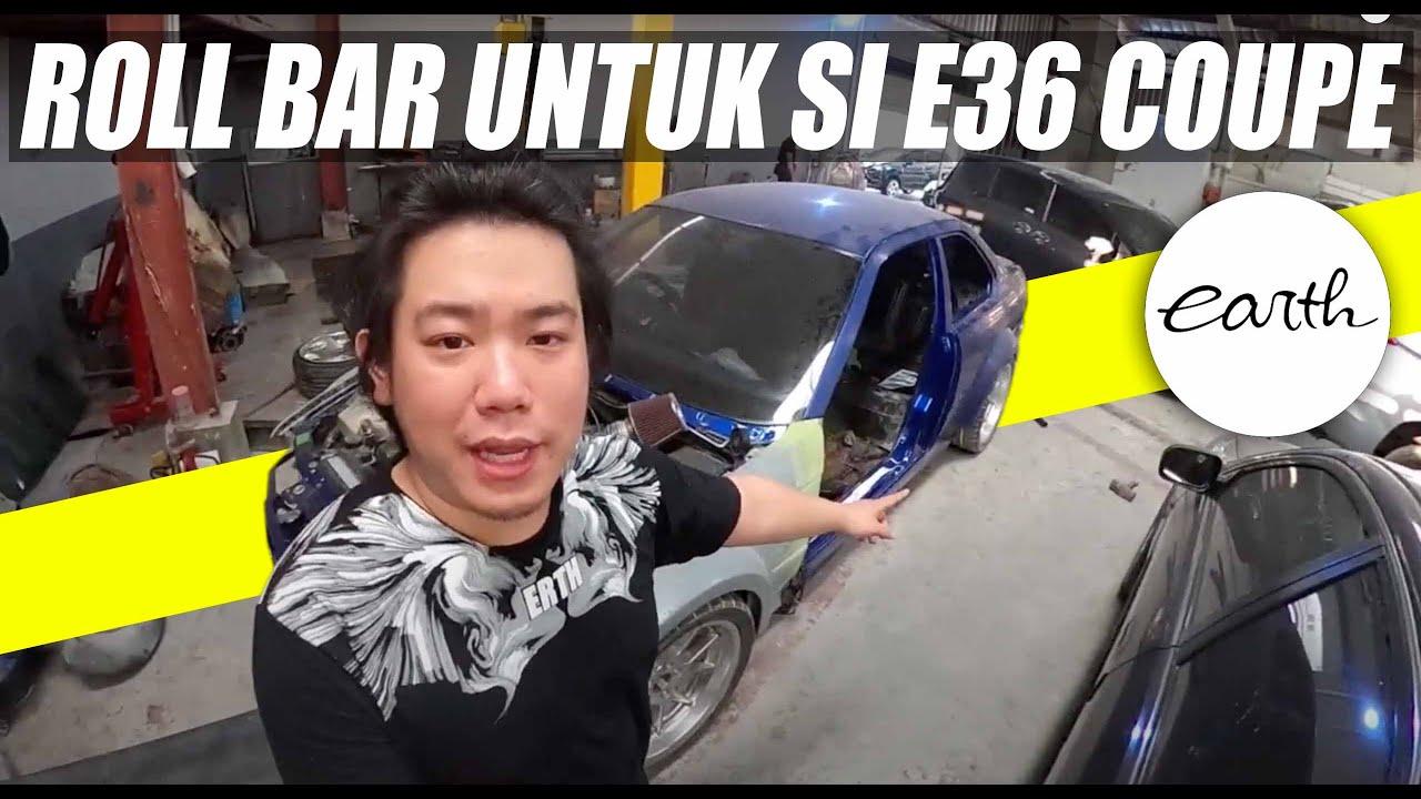 "MODIFIKASI BMW E36 323i CONVERT COUPE TAHAP AKHIR! ""ROLL BAR"" #CARVLOG"