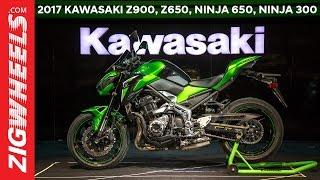 Kawasaki Z900 | Ninja 650 | Z650 | Ninja 300 | Versys 650 | First Look | ZigWheels.com