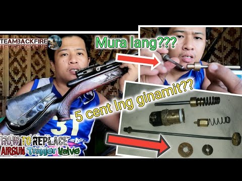 #28, how to replace airgun hummer valve..