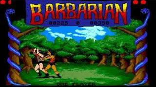 Barbarian - Amiga version decapitation