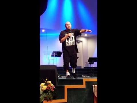 Gordo at Church ~ Actor Noel G's testimony at Elim Church