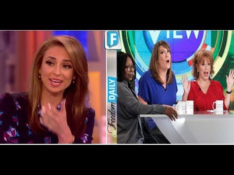 POPULAR HOST OF ANTI TRUMP TALK SHOW THE VIEW WAS FIRED! HERE