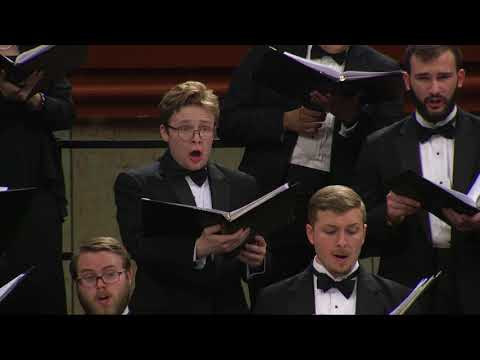 UNT A Cappella Choir: Jake Runestad - Let My Love Be Heard (2014)