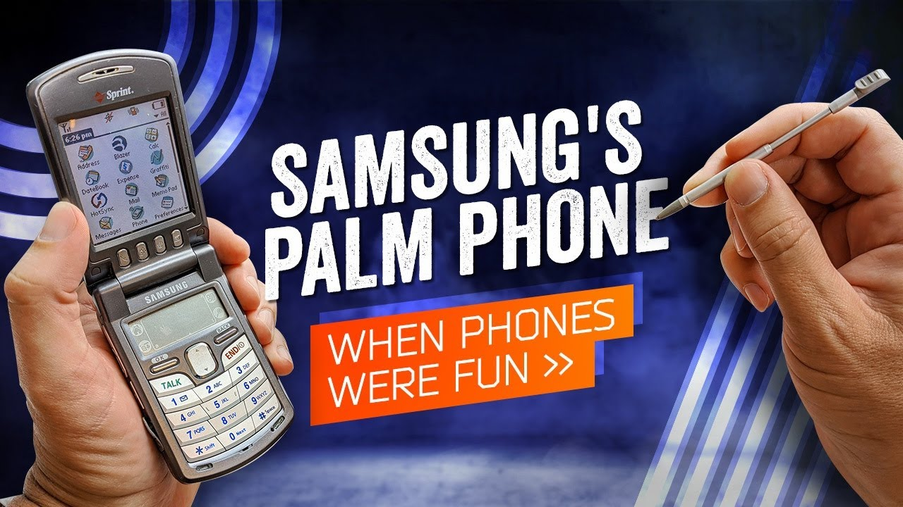 When Phones Were Fun: Samsung's PalmOS Flip Phone (SPH-i500, 2002)