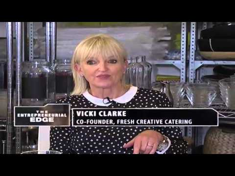 Vicki Clarke & Nikki Gaskell - co-founders of Fresh Creative Catering