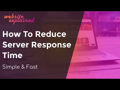 How To Reduce Server Response Time WordPress - The Easy Guide To A Fast Loading Website