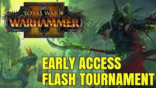The Prophet & The Warlock - Early Access Flash Tournament | Total War Warhammer 2