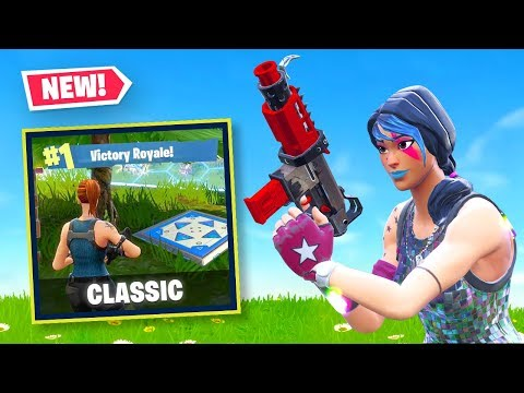 🔴 CLASSIC MODE in Fortnite Battle Royale