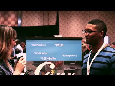 SMNT.TV Santa Monica New Tech Interviews GINX at AppNation Las Vegas 2015