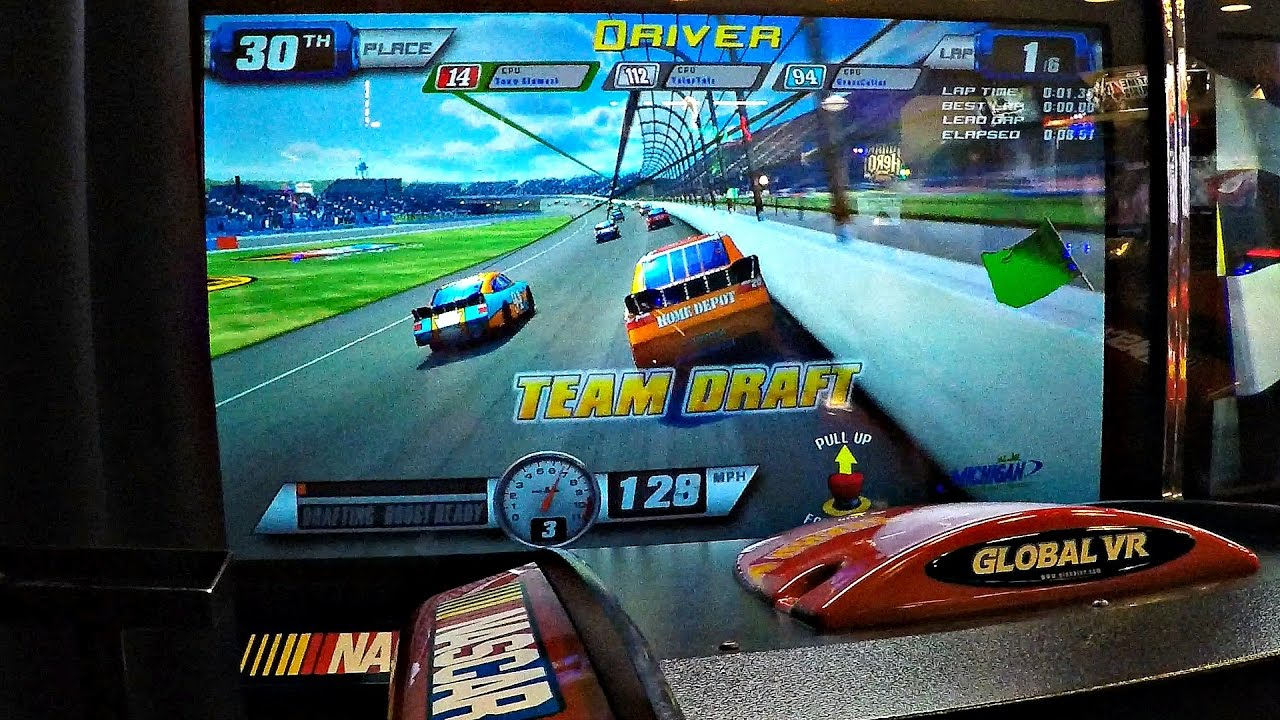 Race Car Nascar Games