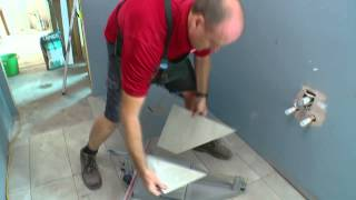 How To Tile A Shower Base - Diy At Bunnings