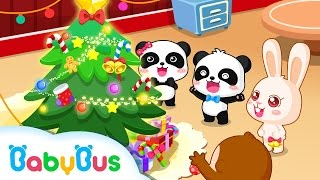 ❤ Merry Christmas | Animation For Babies | BabyBus