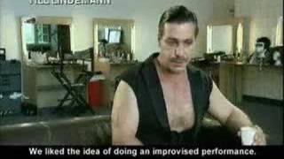 Rammstein Making of Mein Teil (part 1)