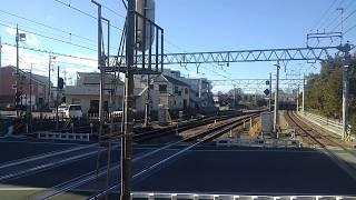 西武鉄道20105F(Lトレ)急行西武新宿行 小平到着