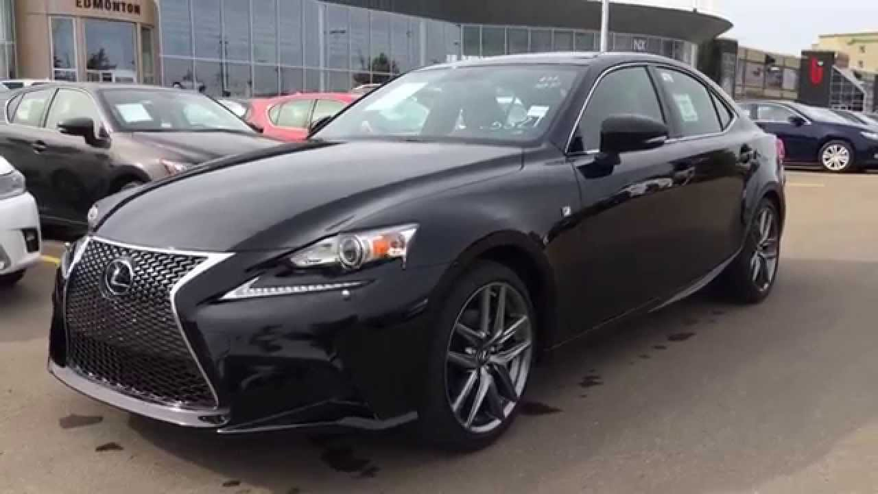 2015 lexus is 250 awd f sport series 3 review at lexus of edmonton canada youtube. Black Bedroom Furniture Sets. Home Design Ideas