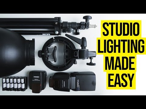 Best Studio Photography Lighting Kit For Beginners