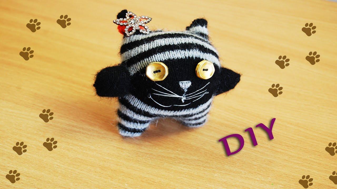 Игрушки для котов своими руками из носков фото 994