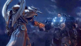 Brothers in Arms: Artanis and Raynor Reclaim Xel'Naga Artifact on Korhal (Starcraft 2| Protoss)