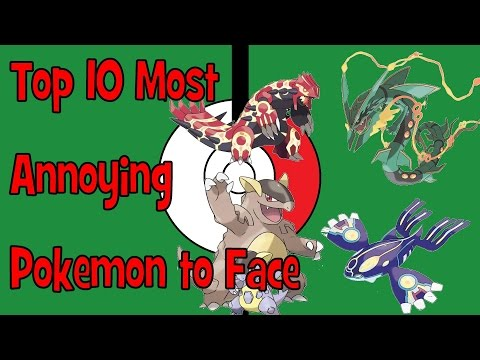 Top 10 Most ANNOYING Pokemon to Face (Gen VI)