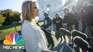 Kellyanne Conway Brands Question On Trump Fear Stoking As Sesame Street 'Word Of The Day' | NBC News