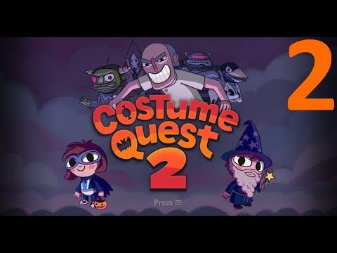 Let's Play Costume Quest 2: House to House
