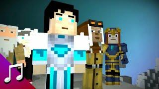 Funky Night Rawi Beat - Dj Kimi No Toriko Remix (Music Video) Animation Minecraft