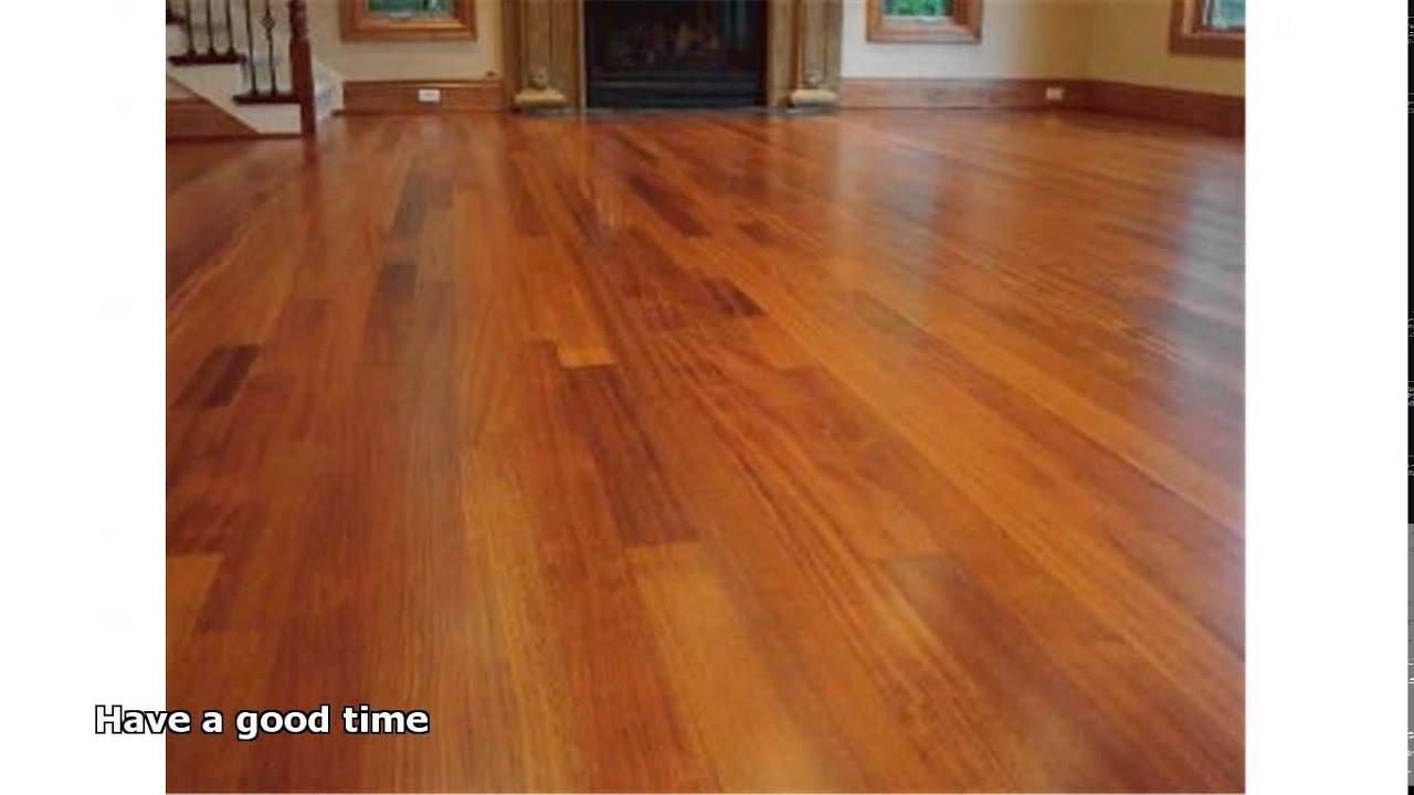 polishing hardwood floors  YouTube