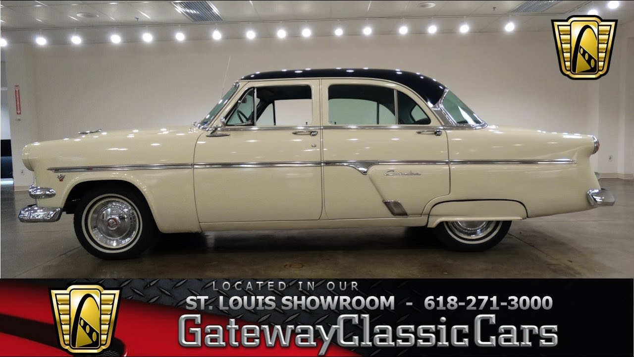 1954 ford customline gateway classic cars st louis for 1954 ford customline 4 door