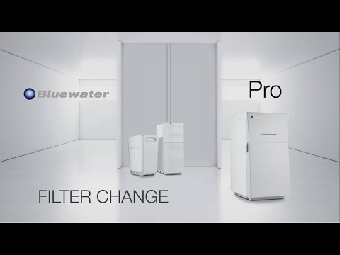 Bluewater PRO Filter change