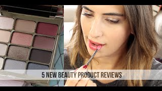 5 New Beauty Product Reviews // Lily Pebbles