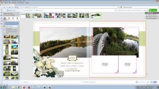 обзор о фотокнигах, видеоурок по созданию фотокниги