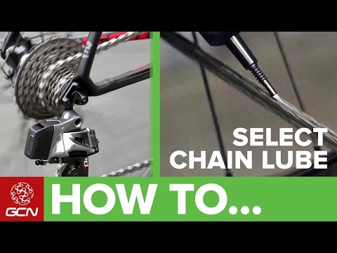 How To Select Chain Lube For Cycling
