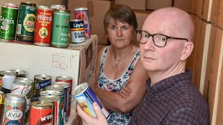 Beer Can Collector Selling Bizarre Collection