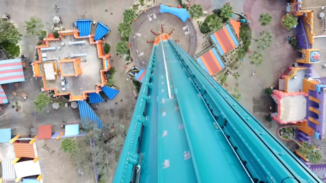 Falcon 39 s fury onride pov 2015 full hd busch gardens tampa - Busch gardens rides height requirements ...